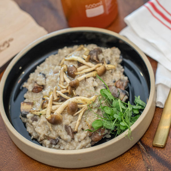 FUNGHI AND TRUFFLE RISOTTO